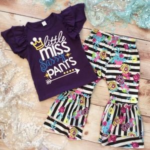 Boutique Girls SASSY PANTS Outfit